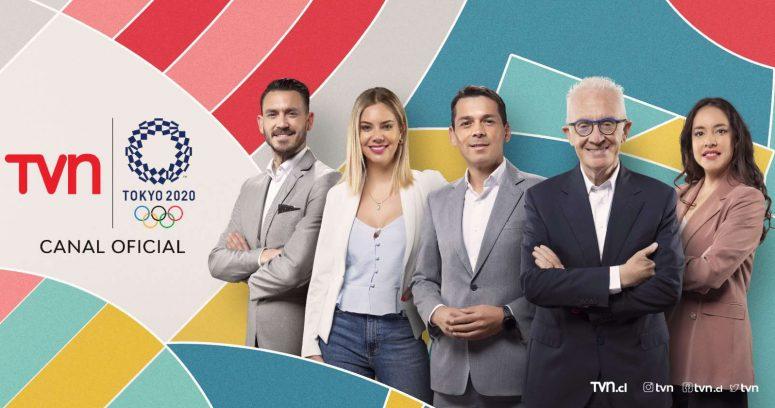 TVN celebra las buenas cifras de la transmisión de los Juegos Olímpicos: lideraron en sintonía el fin de semana