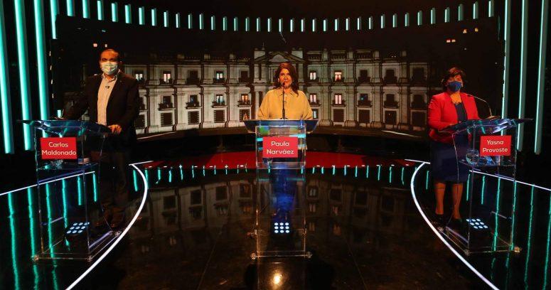 Debate de Unidad Constituyente fue uno de los menos vistos de las primarias
