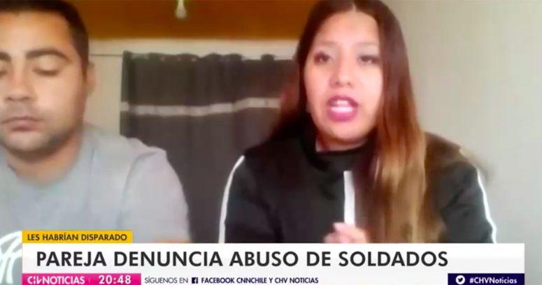 """""""Pareja denuncia robo y abuso sexual de soldados bolivianos en territorio chileno"""""""