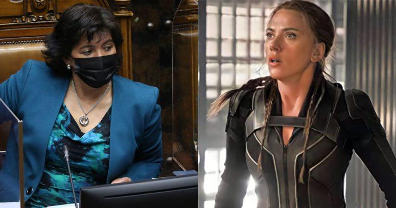"""""""El mensaje de Yasna Provoste por posible oferta de DC a Scarlett Johansson"""""""