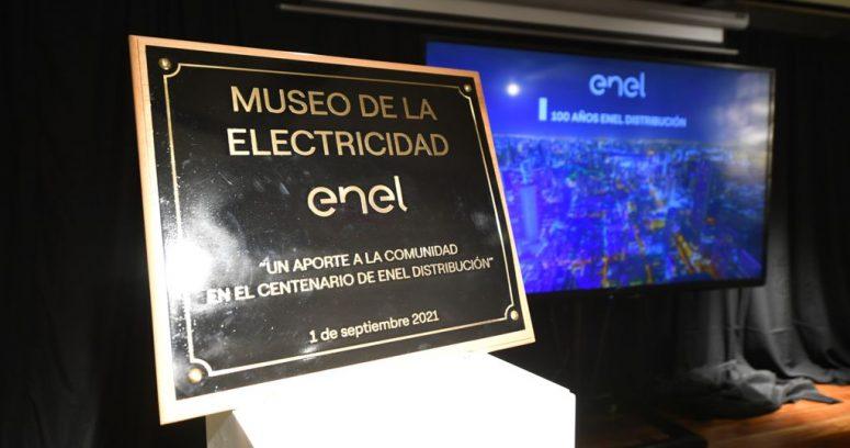 """""""Enel entrega Museo de la Electricidad a Santiago en conmemoración de su centenario"""""""