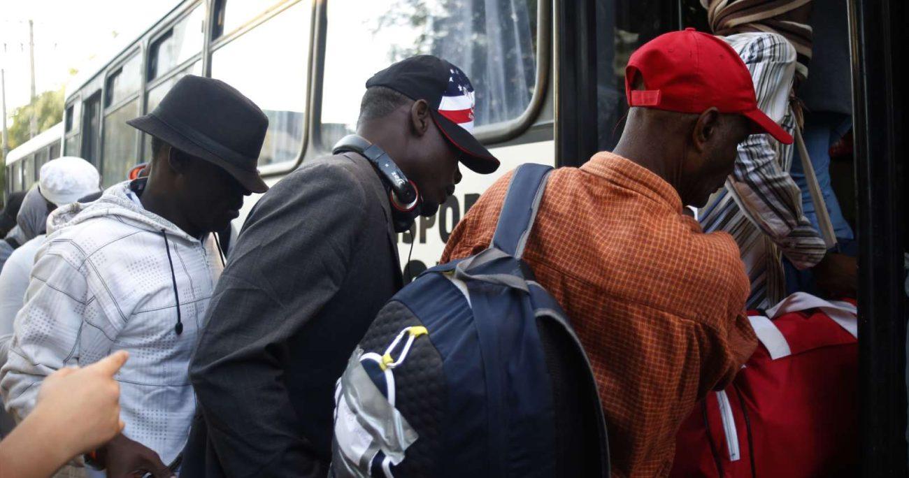 Los migrantes haitianos que llegaron a Estados Unidos viajaron principalmente desde Brasil y Chile. AGENCIA UNO/ARCHIVO