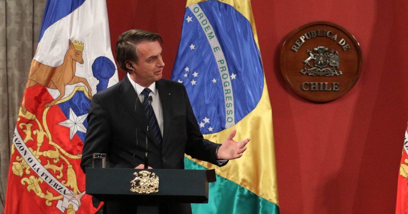 El presidente de Brasil, Jair Bolsonaro, dio negativo de COVID-19 AGENCIA UNO/ARCHIVO