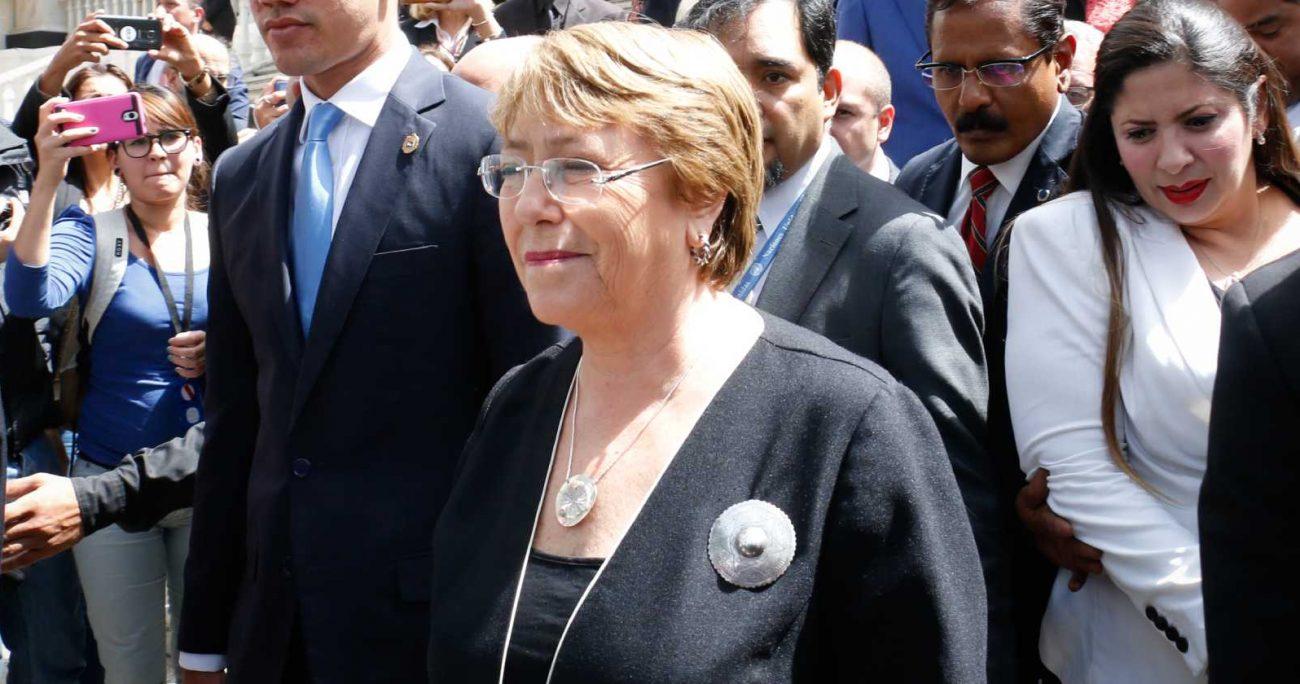 """Bachelet criticó """"la ausencia de datos para monitorear las políticas públicas"""". AGENCIA UNO/ARCHIVO"""