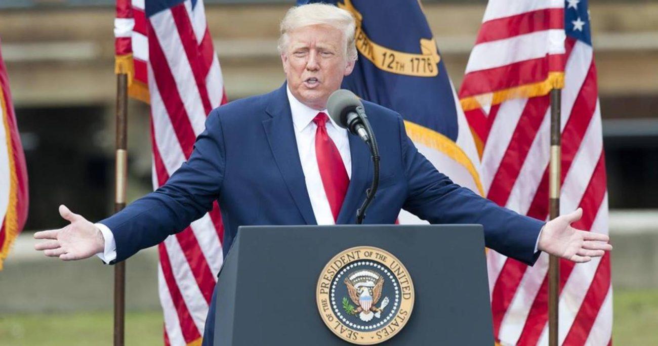 La investigación explica cómo Trump hizo su fortuna en el área inmobiliaria.AGENCIA UNO/ARCHIVO