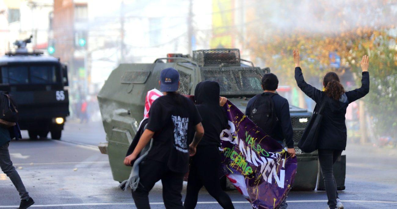 La actualización de las normas de las fuerzas de seguridad se vio impulsada tras el estallido social. AGENCIA UNO/ARCHIVO