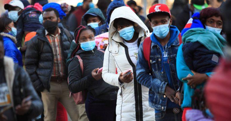 """""""México inició vuelos de repatriación de migrantes haitianos"""""""
