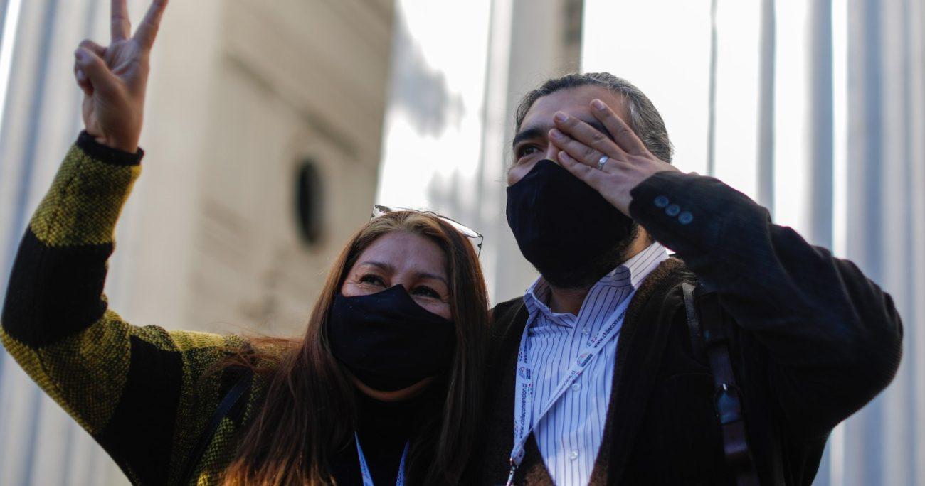 Giovanna Grandón y Manuel Woldarsky pidieron ingresar al comité Mixto. AGENCIA UNO/ARCHIVO