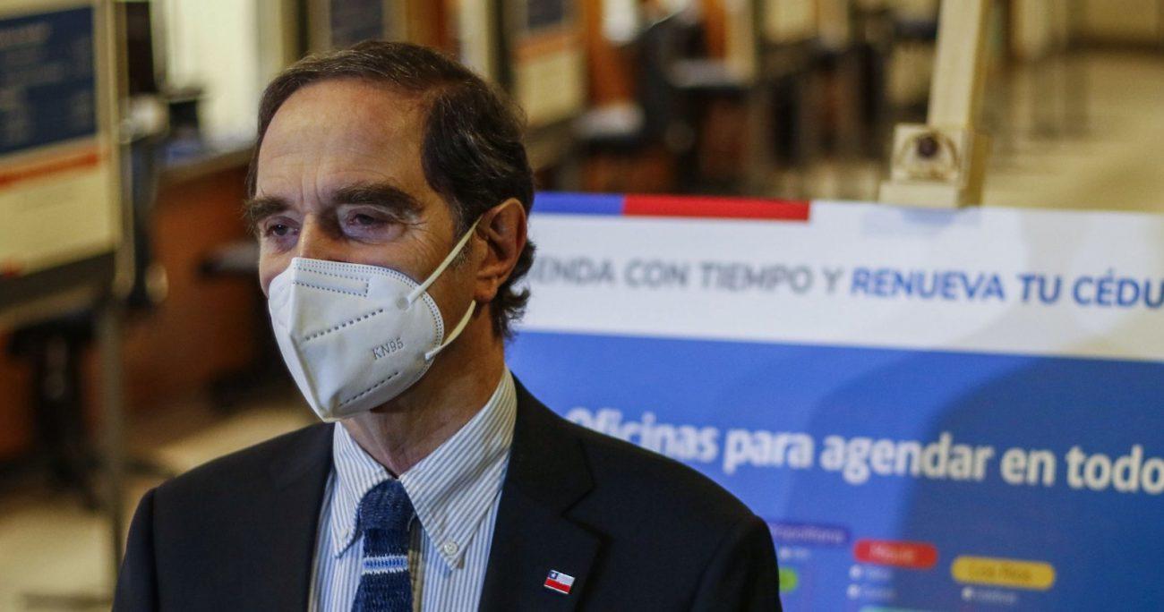 """Ante esta situación, el movimiento acusó """"actuar deshumanizado y negligente"""" de Hernán Larraín. AGENCIA UNO/ARCHIVO"""