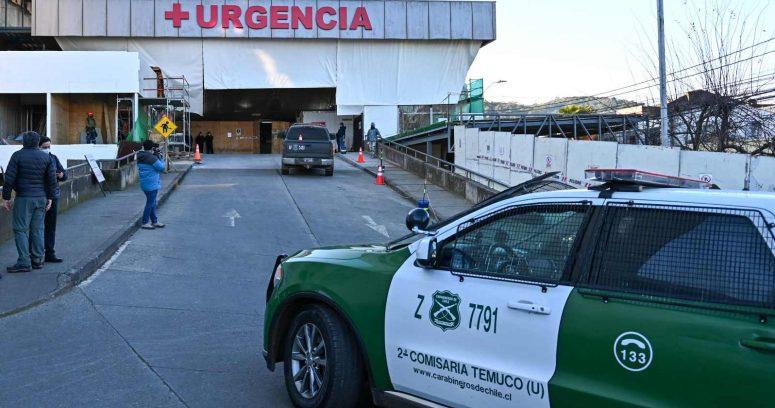 """""""Carabinero fue baleado durante ataque contra carro policial al sur de Temuco"""""""