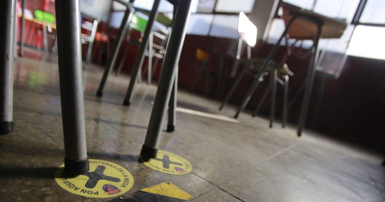 Los recintos han retomado sus clases de forma paulatina con medidas sanitarias. AGENCIA UNO/ARCHIVO