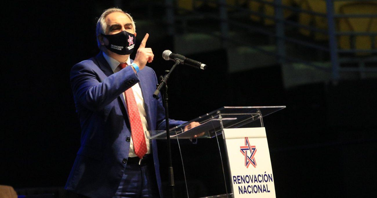 En la previa, Mario Desbordes acusó que la directiva quiso bajar la candidatura de Durán al Congreso. AGENCIA UNO/ARCHIVO