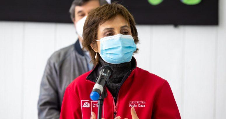 Paula Daza adelanta nuevo plan Paso a Paso tras término del estado de excepción