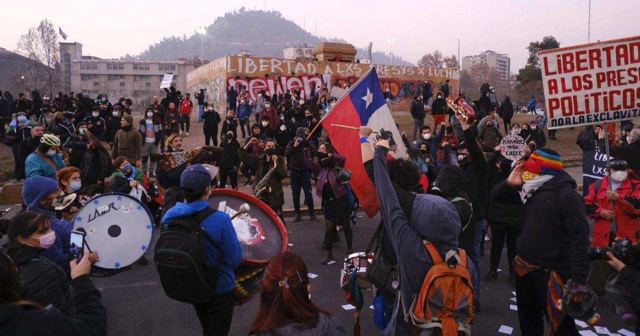 Un 46% dijo estar de acuerdo siempre o casi siempre con participar de marchas. AGENCIA UNO/ARCHIVO