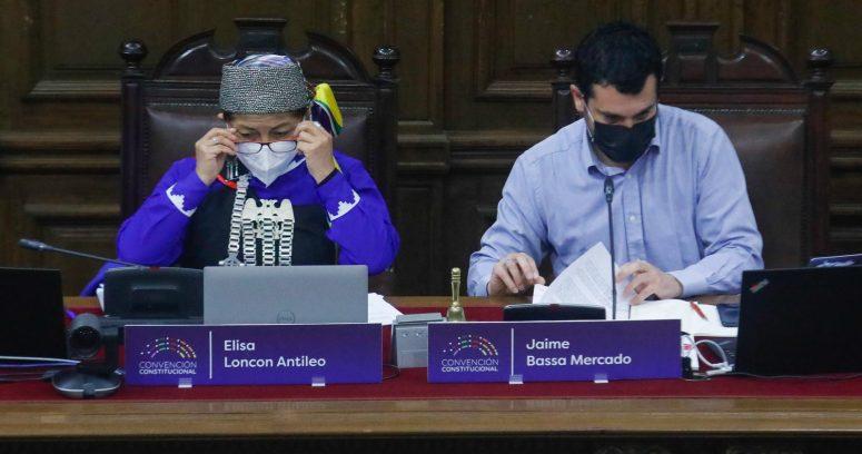 Elisa Loncon y Jaime Bassa saldrán de la mesa de la Convención Constitucional en enero