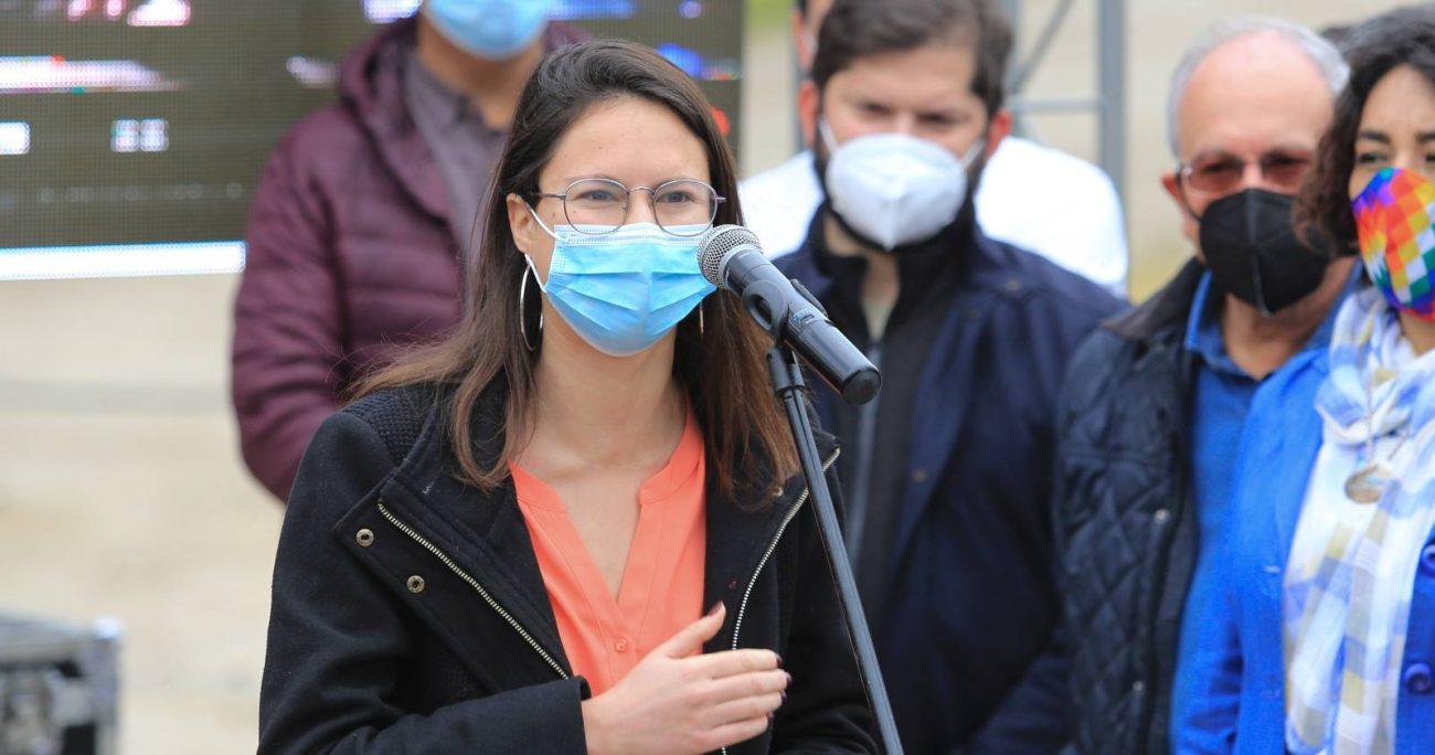 La llegada de la alcaldesa forma parte de los últimos ajustes al equipo del abanderado del Frente Amplio. AGENCIA UNO/ARCHIVO