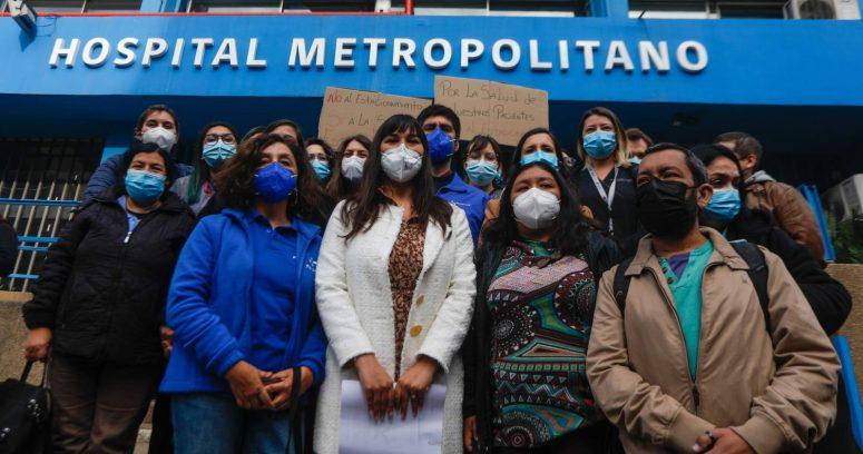 """""""Colegio Médico por reducción de camas en Hospital Metropolitano:"""