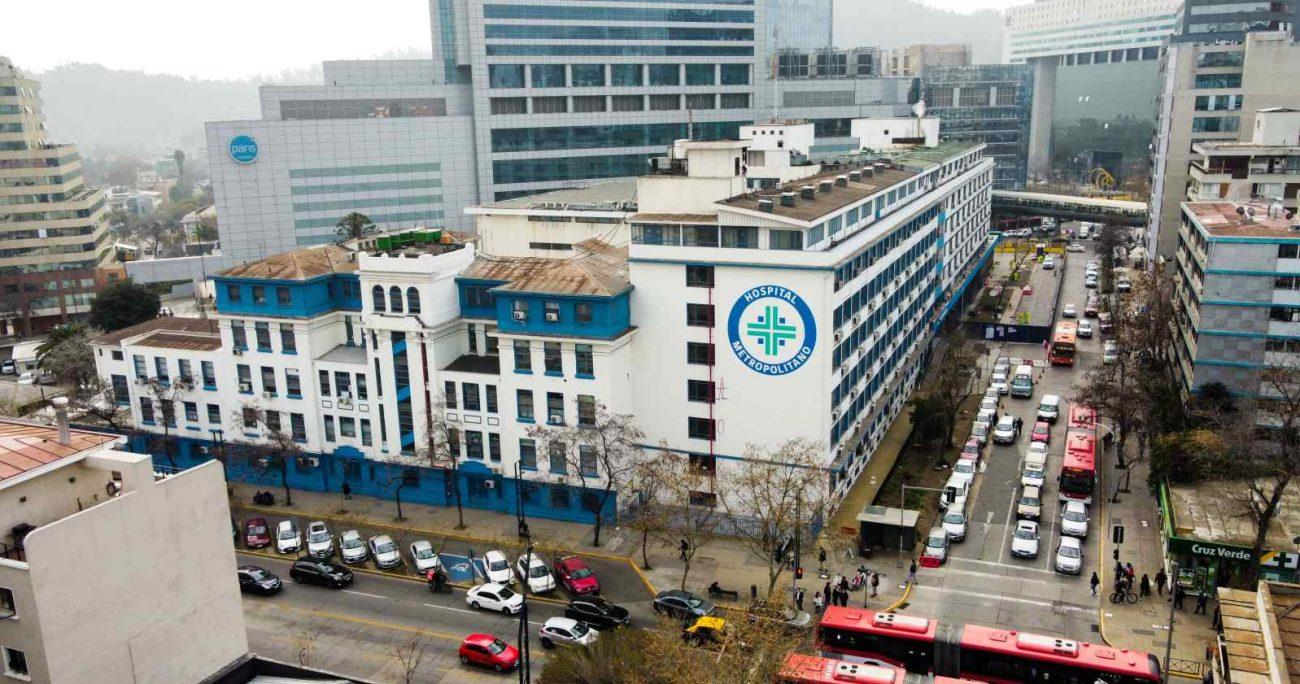 La autoridad recordó que hace algún tiempo el recinto albergó al Hospital Félix Bulnes. AGENCIA UNO/ARCHIVO