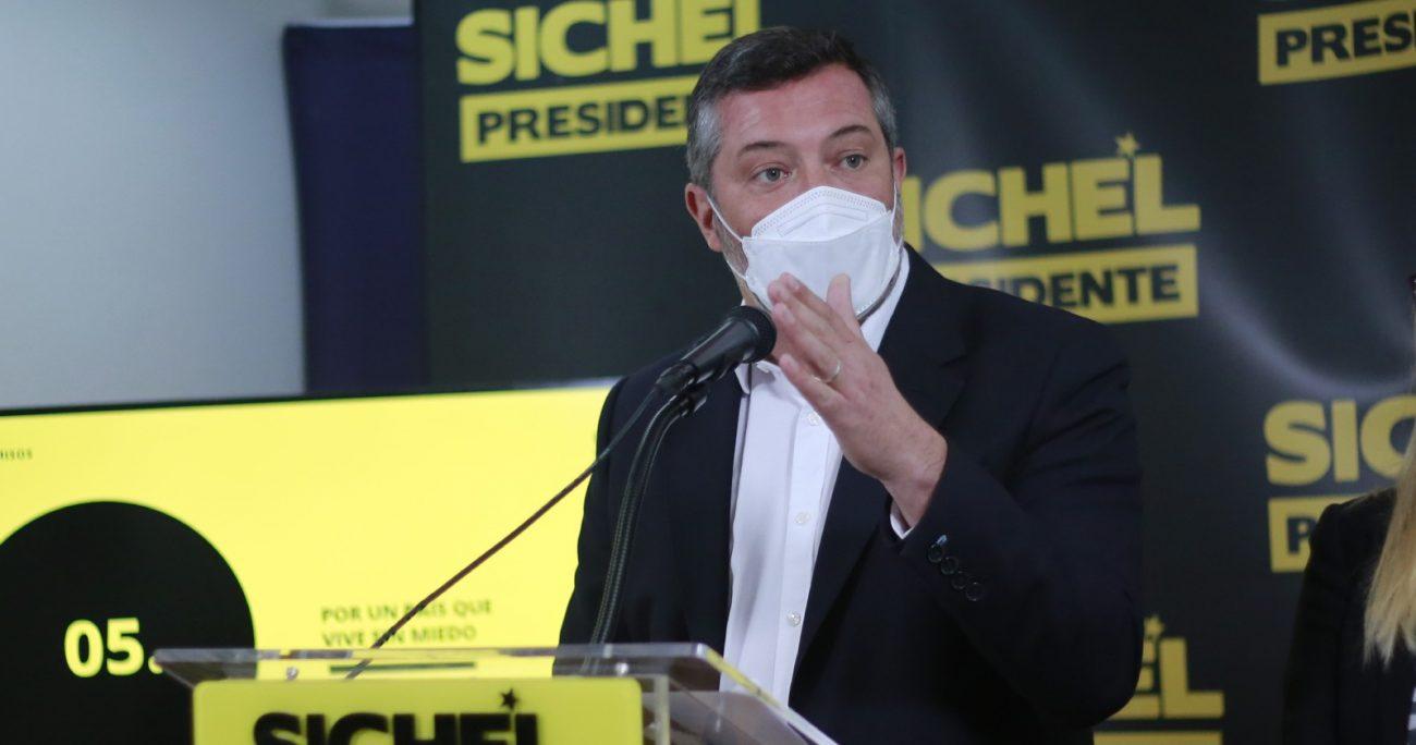 Sichel se quedó con el 11% de las preferencias en la CEP. AGENCIA UNO/ARCHIVO