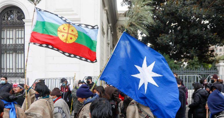 """""""Loncon por manifestación mapuche:"""