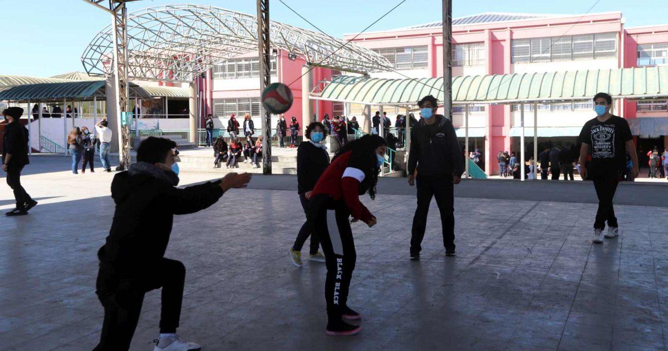 El estudio abarcó a 1.400.000 de alumnos en más de 5 mil establecimientos educacionales. AGENCIA UNO/ARCHIVO