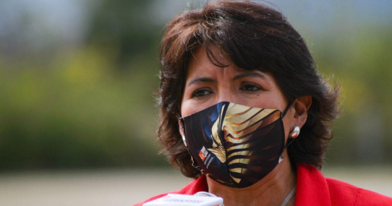 La senadora Provoste aún no decide cómo votará cuando el cuarto retiro llegue al Senado. AGENCIA UNO/ARCHIVO