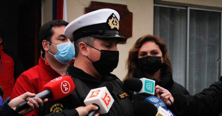 """""""Armada finaliza búsqueda de jóvenes desaparecidos en Cobquecura"""""""
