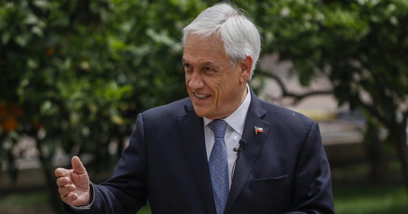 El presidente llamó a mantener el uso de mascarillas y el distanciamiento físico. AGENCIA UNO/ARCHIVO