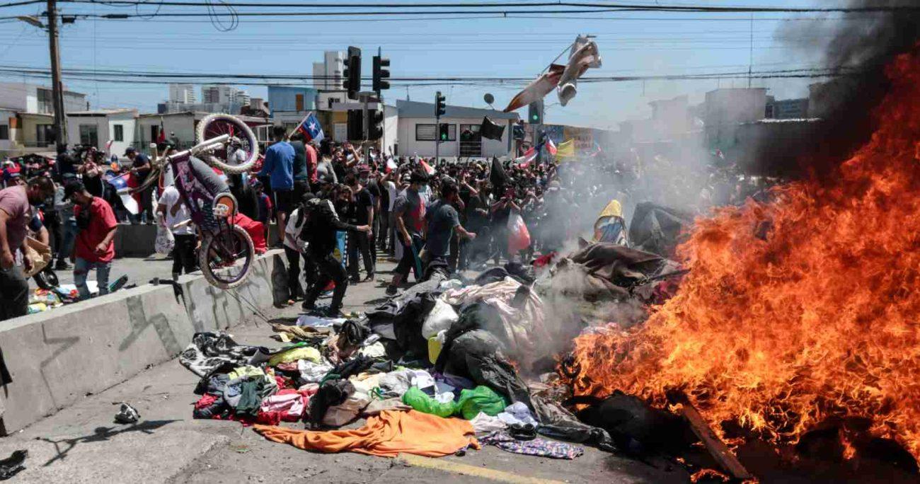 La vicepresidenta venezolana, exigió a las autoridades de Chile que respetaran la integridad física de los migrantes. AGENCIA UNO/ARCHIVO