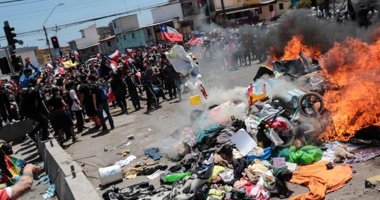 Fiscalía instruye a la PDI para investigar quema de pertenencias de inmigrantes