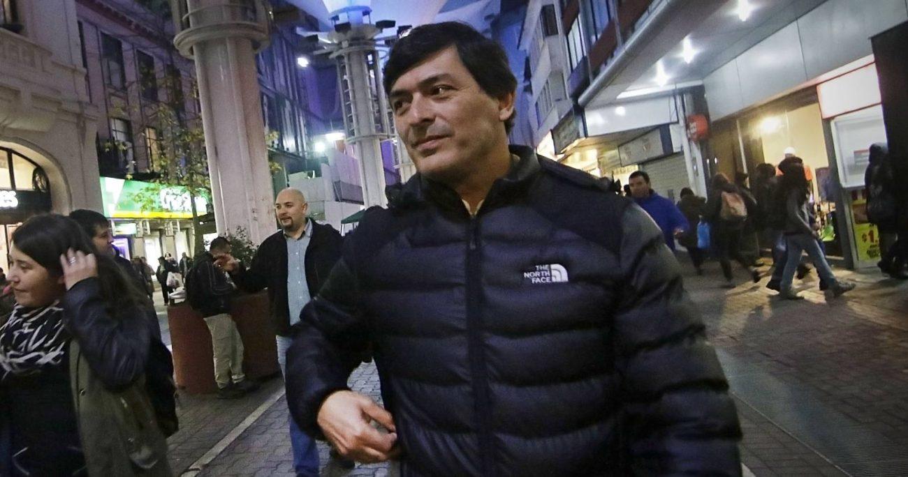 Parisi indicó que puede volver a Chile cuando quiera, pese a la orden de arraigo en su contra. AGENCIA UNO/ARCHIVO