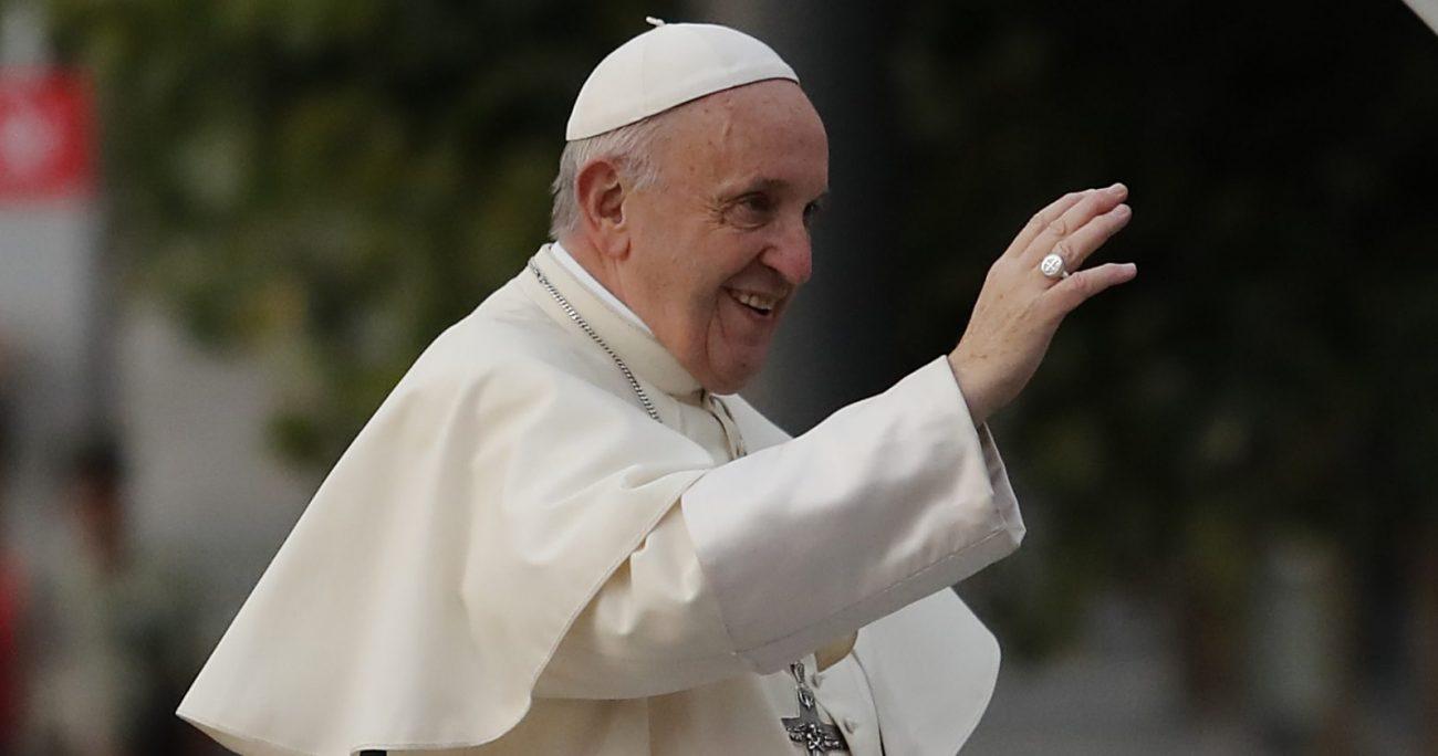 """""""Siempre que un papa está enfermo corre brisa o huracán de cónclave"""", dijo. ARCHIVO/AGENCIAUNO"""