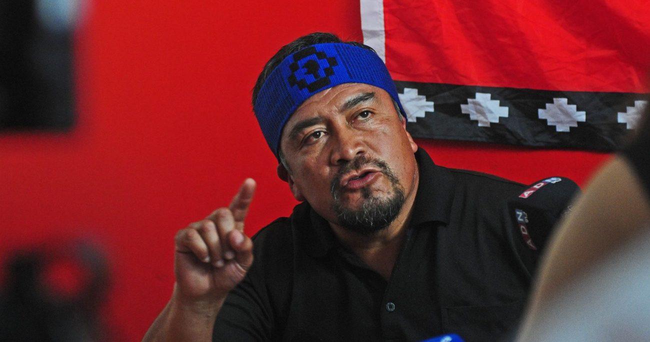 El dirigente mapuche precisó que fue detenido en abril de 1988, cuando estudiaba en la Universidad Católica de Valparaíso. AGENCIA UNO/ARCHIVO