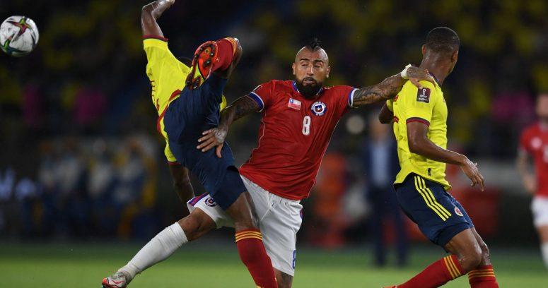 """""""Arturo Vidal tras caída en Colombia:"""