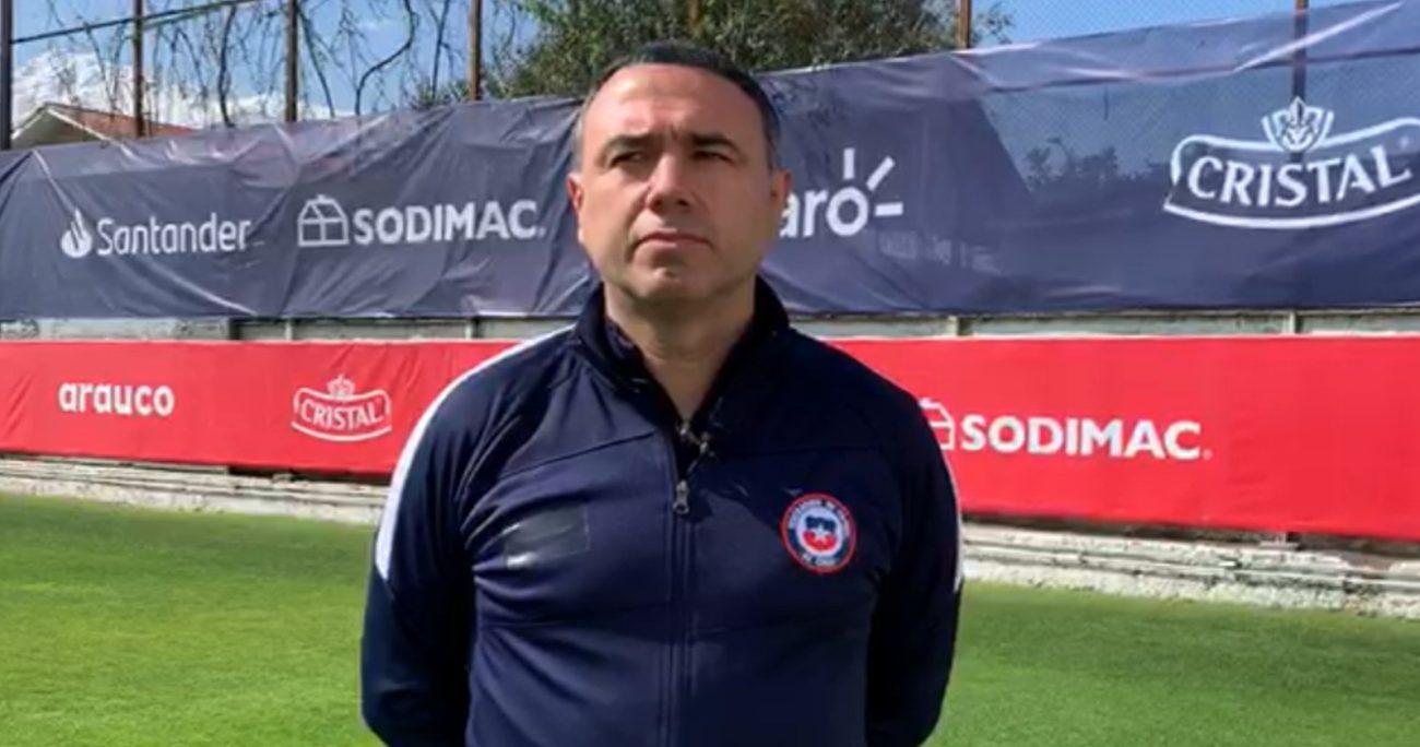 El británico-español analizó su labor en el equipo nacional. LA ROJA/ARCHIVO
