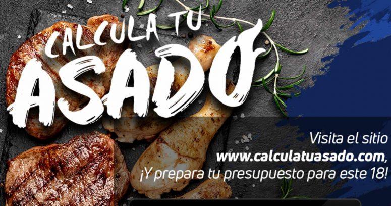 """""""CalculatuAsado: plataforma gratuita te permitirá ahorrar en estas Fiestas Patrias"""""""