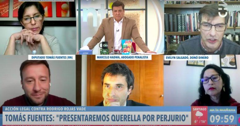 """""""Stingo baja el perfil a rifa fraudulenta de Rojas Vade durante round con diputado Fuentes"""""""
