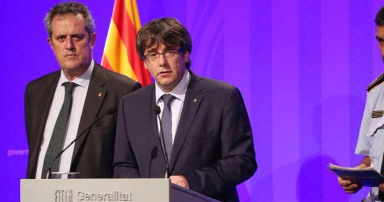 El político fue arrestado en la isla de en Cerdeña. TWITTER/CARLESPUIGDEMONT