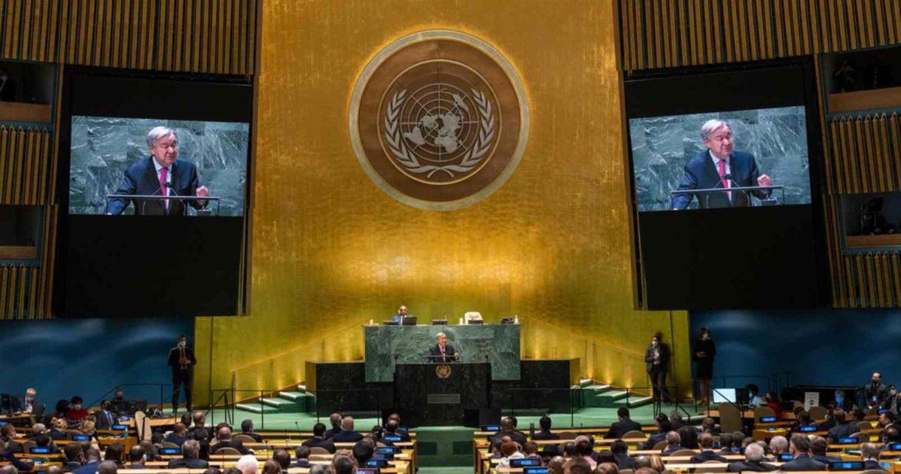 """""""Este es nuestro momento. Reconstruyamos la confianza"""", dijo Guterres. AGENCIA UNO/ARCHIVO"""