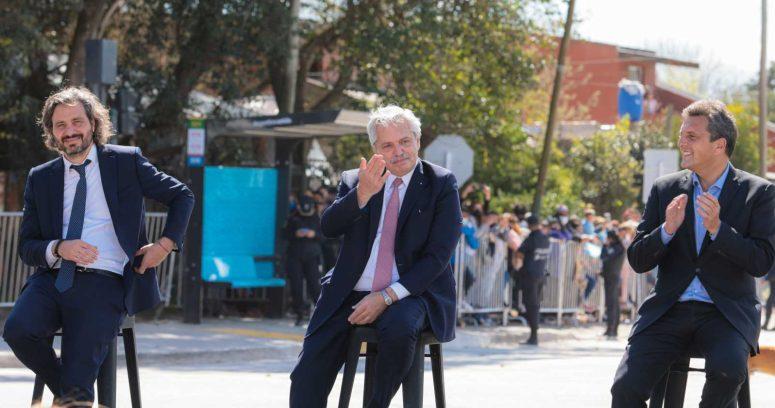 """""""Alberto Fernández tomó juramento a sus nuevos ministros en medio de crisis oficialista"""""""