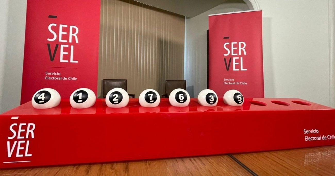 En la elección de noviembre habrán siete candidatos presidenciales. SERVEL