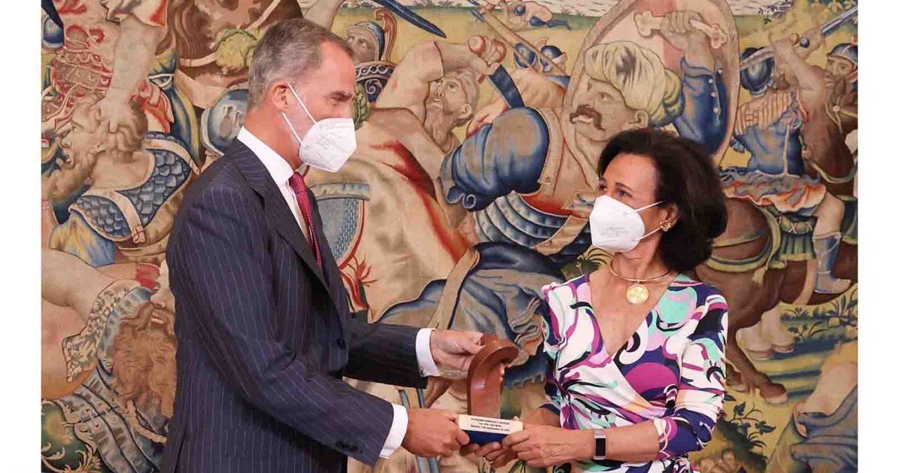 Botín fue elegida por decisión unánime del jurado de la VII edición del premio. Santander