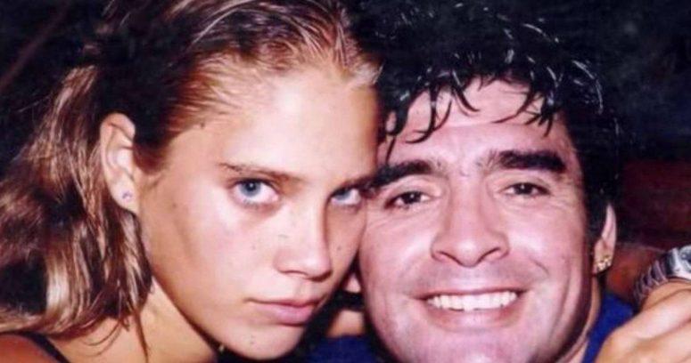 """""""Ex novia cubana de Diego Maradona:"""