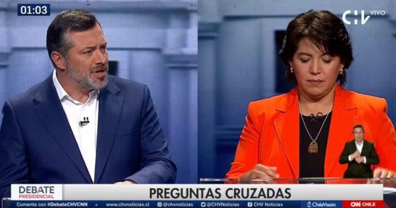Yasna Provoste apela a Wikipedia para confrontar a Sichel en debate presidencial