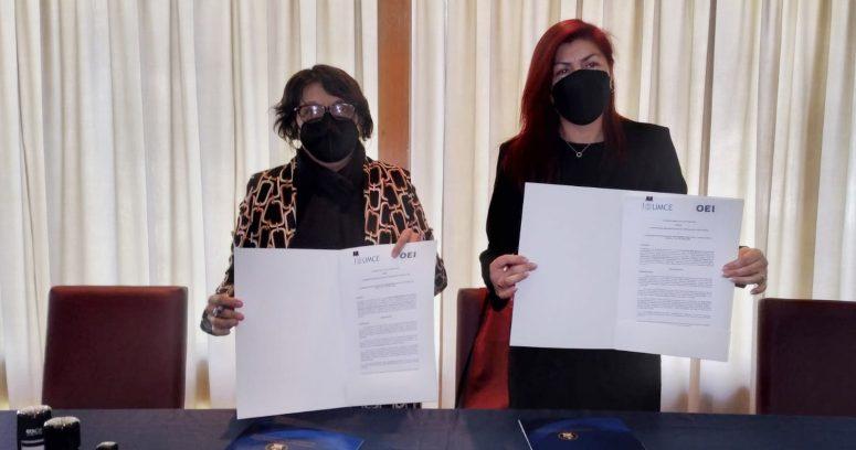 """""""UMCE firma convenio de colaboración con OIE para potenciar acciones conjuntas"""""""