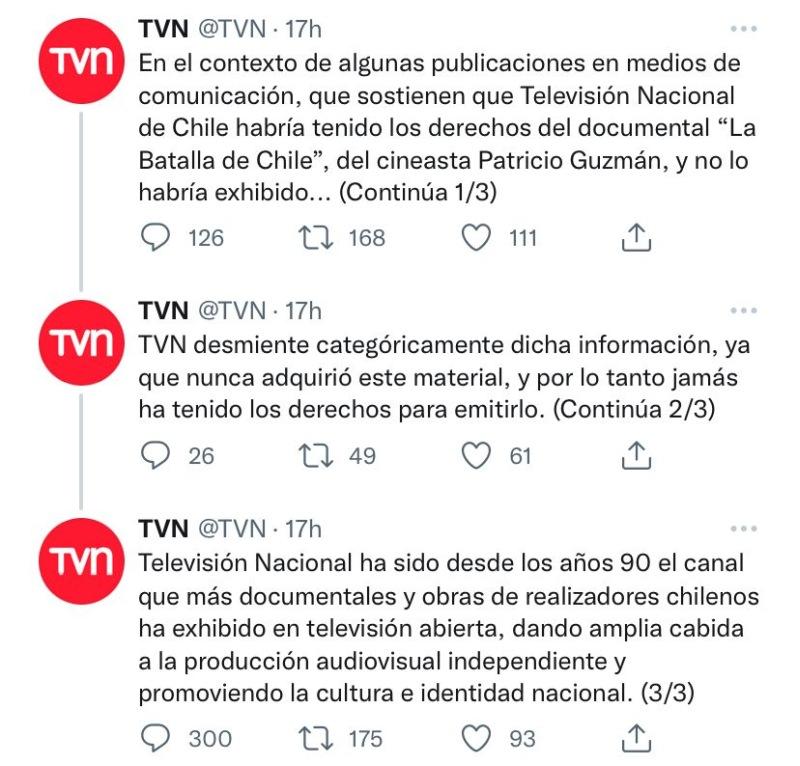 La Batalla de Chile TVN