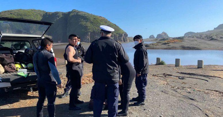 """""""Continúa la búsqueda de los tres turistas desaparecidos en Cobquecura"""""""