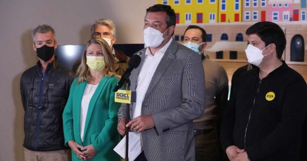 El candidato Sichel solicitó abrir las fronteras internacionales y exigir vacunación a turistas. CEDIDA