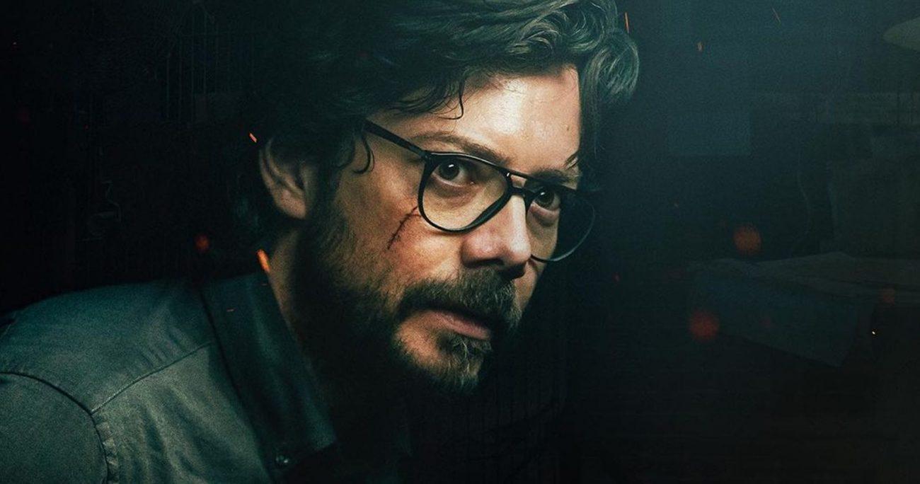 Álvaro Morte interpreta en La Casa de Papel a El Profesor, el cerebro detrás de los atracos. NETFLIX