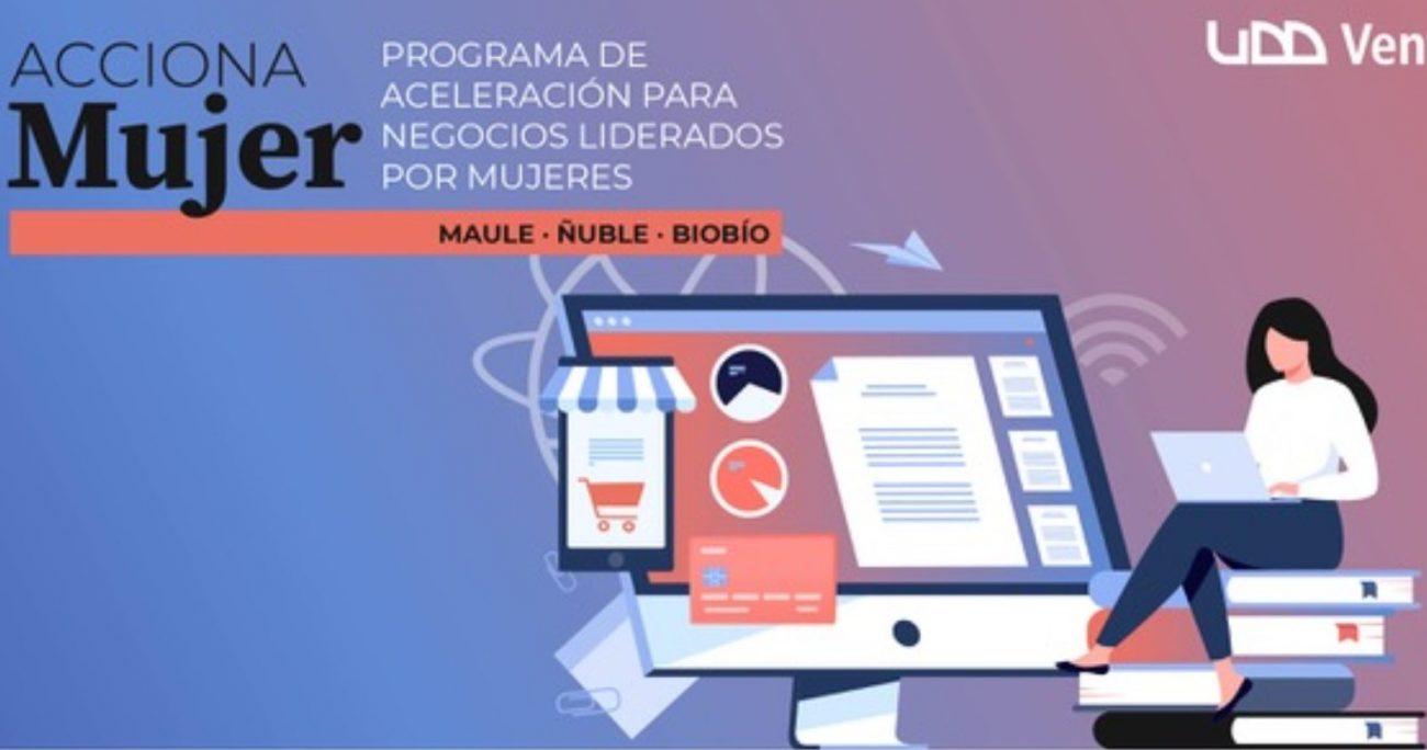 La iniciativa es parte de un programa gratuito que realiza UDD Ventures, en su calidad de Ejecutor del Fondo Viraliza de Corfo.